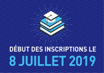 Inscriptions universitaires 2019-2020