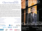 14 novembre -Colloque  : rencontre avec JP Chevènement
