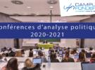 Conférences d'analyse politique 2021