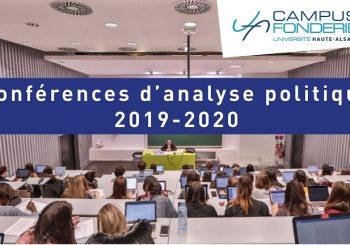Conférences d'analyse politiques 2020