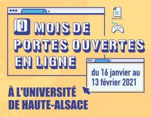 Journées des Universités et Journée Portes Ouvertes 2021