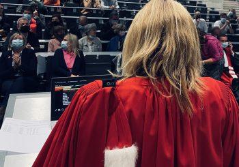 Remise des diplômes des masters en droit (promotion 2020 et 2021)